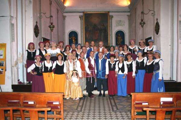 CHŒUR ESPACE CHANT, fête de Francois 1° à Villeneuve loubet mai 2008