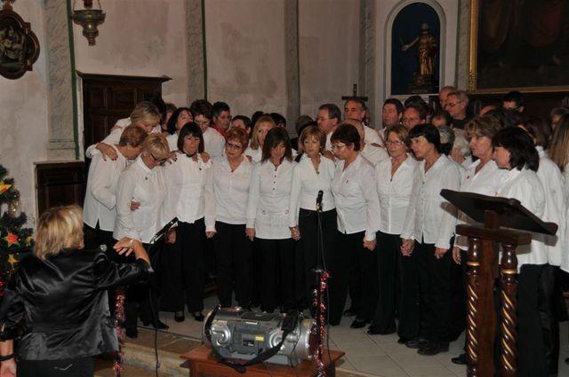 CHŒUR ESPACE CHANT, Concert Noël Eglise St Marc de Villeneuve Loubet 19 décembre 2010